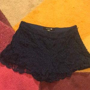 Flower Lace Shorts